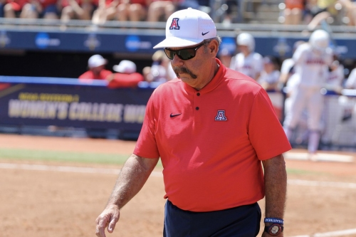 What Mike Candrea said after Arizona's win vs. Washington in the Women's College World Series
