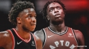 Raptors' OG Anunoby inactive for Game 1 vs. Warriors but expected to be available for Game 2