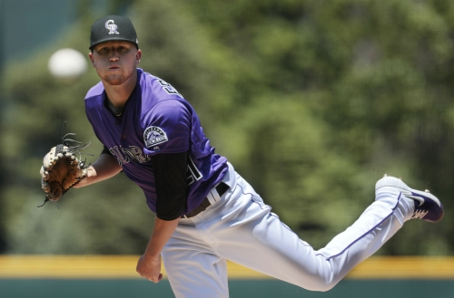 Kiszla: For mercy's sake, Rockies need to send struggling pitcher Kyle Freeland to the minor leagues