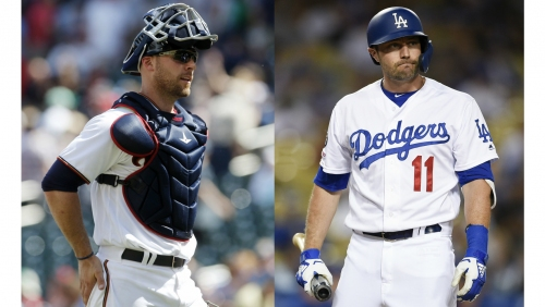 As A.J. Pollock recovers from infection, Dodgers coach Chris Gimenez can relate