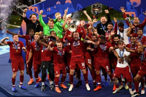 Liverpool FC crowned champions of Europe