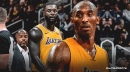 Kobe Bryant denies Lance Stephenson's claim that he has been showing up to Lakers practices