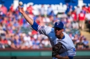 Rangers' Rule 5 draft pick Kyle Dowdy moved to injured list with elbow issue
