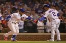 Cubs snap Rockies' eight-game win streak as Javier Baez's two-run homer powers Chicago