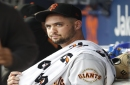 Giants follow Bochy's 1,000th win with shutout loss to journeyman lefty