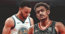 Trae Young thinks Stephen Curry is 'going for 50' after hot start in Game 3 of NBA Finals