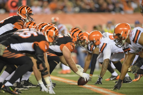 What AFC North position group has improved the most?