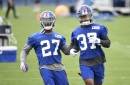 How will youth impact the Giants' secondary?