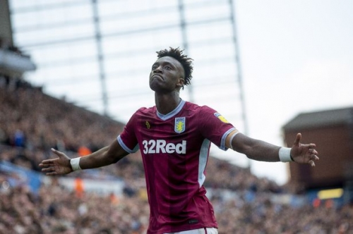 Chelsea's Tammy Abraham has issued a cryptic message to Aston Villa fans