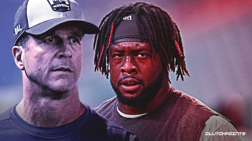 Ravens' John Harbaugh reacts to Gerald McCoy signing with Panthers