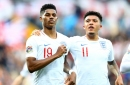 Manchester United fans identify dream attack after Jadon Sancho and Marcus Rashford link up for England