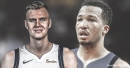 Mavs' Jalen Brunson already working on establishing chemistry with Kristaps Porzingis