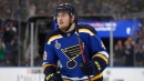 Blues' Barbashev to have hearing for check to head of Bruins' Johansson