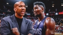 Suns coach Monty Williams already communicating with Deandre Ayton, 'blown away' by what he has seen during their workouts