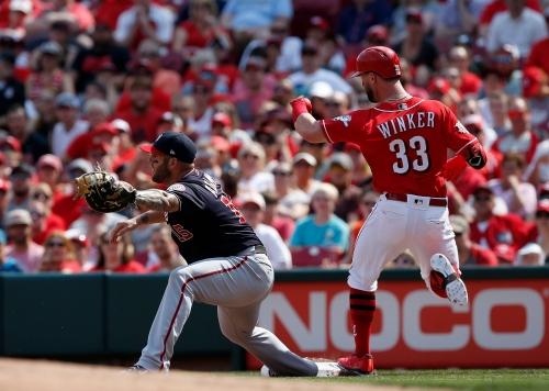 'Weird, right?': Cincinnati Reds' Jesse Winker feels he's hitting better than numbers show