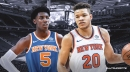 Knicks' Kevin Knox likes the prospect of playing alongside RJ Barrett