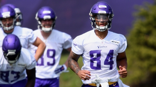 Vikings rookie TE Irv Smith has a mentor in Kyle Rudolph