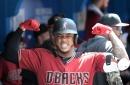 Eight-run third inning powers Diamondbacks to road sweep of Blue Jays