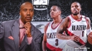 Bruce Bowen says Blazers' Damian Lillard, CJ McCollum extensions 'should have been done yesterday'