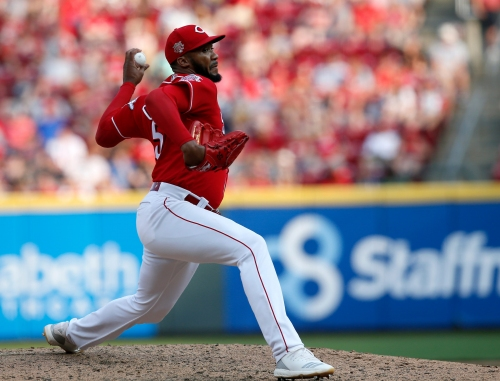 Cincinnati Reds reliever Amir Garrett out to prove he's one of the best in baseball