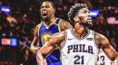 Joel Embiid calls out Raptors fans for cheering after Kevin Durant injury