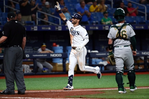 Rays 6, Athletics 2: Three two-run home runs took the cake for the Rays