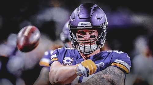 Kyle Rudolph signs 4-year extension with Minnesota Vikings