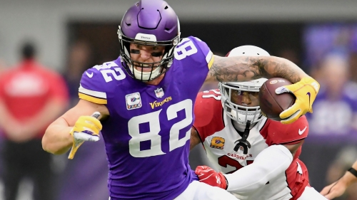 Vikings TE Kyle Rudolph to sign four-year, $36 million extension, lower his cap number