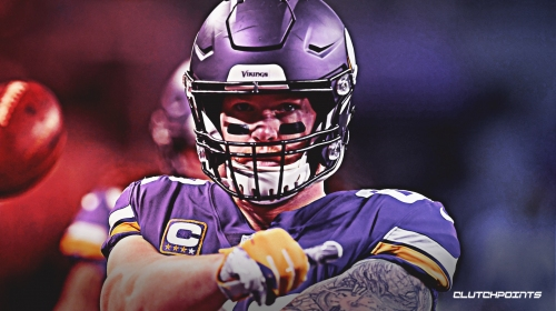Kyle Rudolph says his 'only objective' was to stay with Vikings