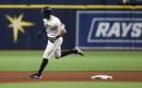 Yes, that's Rays' Yonny Chirinos among AL pitching leaders