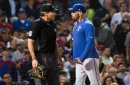 Rangers come up with second straight win vs. Red Sox amidst chaotic umpire performance