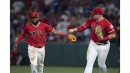 Angels strike quickly and hang on to complete 2-game sweep of Dodgers