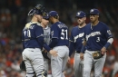 Brewers make it interesting, but lose 10-8 to the Astros