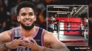 Video: Karl-Anthony Towns shares clip of boxing workout