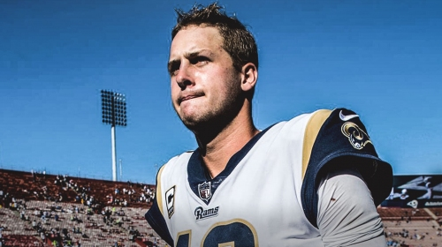Rams news: Jared Goff not worried about contract status