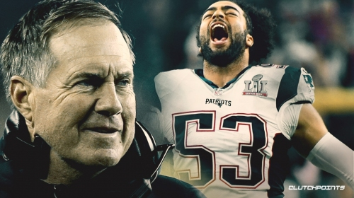 Patriots' Kyle Van Noy says Bill Belichick shot him in the face during paintball