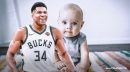 Babies named after Bucks star Giannis Antetokounmpo spiked 135 percent in 2018