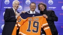 Oilers GM Holland weighing options ahead of first draft with Edmonton