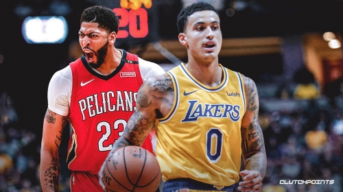 Report: Lakers could keep No. 4 overall pick if they trade Kyle Kuzma to Pelicans for Anthony Davis