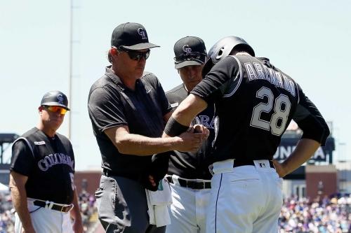 Cubs 10, Rockies 1: Rockies bats silenced in heated affair