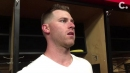 Video: Anthony DeSclafani on his solid start in the Cincinnati Reds' win over Indians