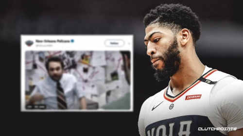 Pelicans' official Twitter account reacts to Anthony Davis trade rumors