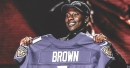Ravens rookie Marquise Brown has been cleared for individual drills
