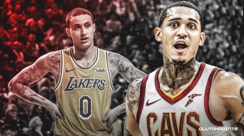 Cavs' Jordan Clarkson tells Lakers' Kyle Kuzma to 'start packing' amid trade rumors