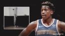 Video: Knicks' Frank Ntilikina hard at work on his 3-point shot