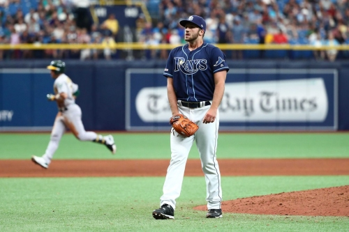 View from the Catwalk: Rays fall out of first place
