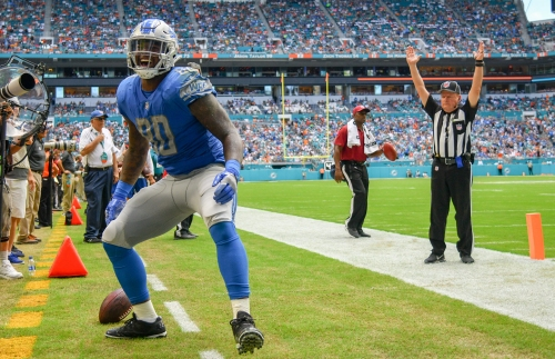 Lions trade TE Michael Roberts to Patriots for future draft pick