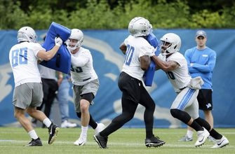 Lions trade TE Roberts to Patriots for conditional pick