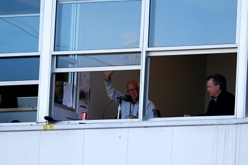 Marty Brennaman, Tom Hamilton broadcast Reds-Indians inning together on Cleveland radio
