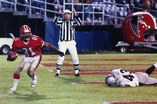 """Falcons Throwback Thursday: WR Billy """"White Shoes"""" Johnson"""